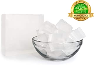 100% Organic Ultra Clear TRANSPERENT Glycerin Soap Base by Velona | Melt & Pour All Natural Bar for The Best Result | Size: 10 lb
