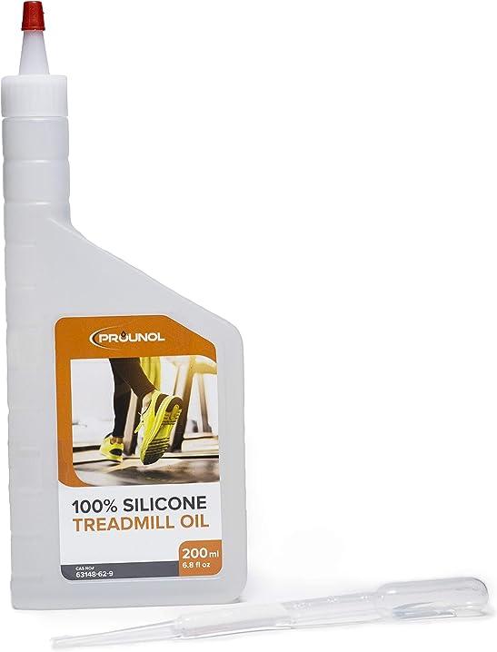 olio di silicone puro al 100% per tapis roulant - flacone da 200 ml  - prounol b07y228q4c
