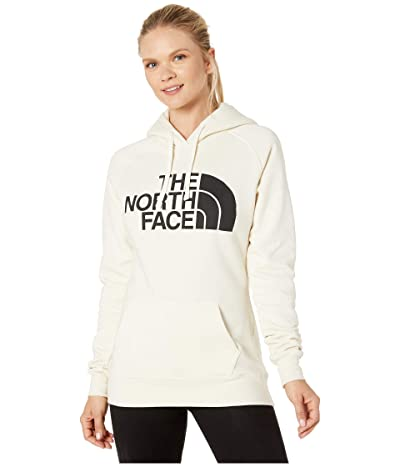 The North Face Half Dome Pullover Hoodie (Vintage White/TNF Black) Women