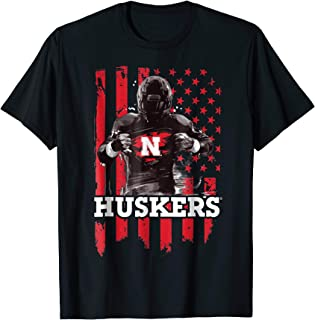 Nebraska Cornhuskers Player Flag T-Shirt - Apparel