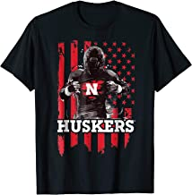 Nebraska Cornhuskers Player Flag T-Shirt - Apparel