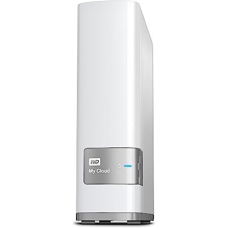 WD NAS 3TB WD Cloud WDBAGX0030HWT-JESN/ホワイト/スマホ対応/タイムマシン対応/ファンレス/iphone7対応