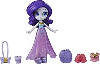 My Little Pony Equestria Girls Fashion Squad Rarity, 3-Inch Potion Mini Doll Toy with Outfit and Surprise Accessories for ...