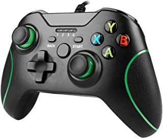 Xbox One Wired Controller, YAEYE Wired Xbox One Game Controller USB Gamepad Joypad Controller with Dual-Vibration for Xbox...