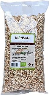 Bionsan Trigo Espelta Hinchada Ecológica - 3 Bolsas de 130 gr - Total : 390 gr