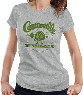 CYDADA Castroville Artichoke Festival Stranger Things Women's T-Shirt