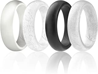 Best white silicone wedding ring Reviews