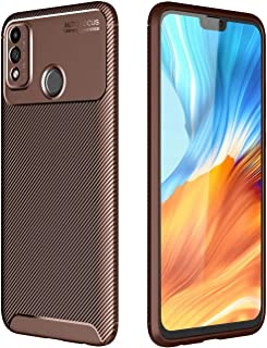 Soosos Case for Huawei Honor 9X Lite Case Carbon Fiber Ultra thin TPU Soft Silicone Shockproof Anti-fall Cell phone Protec...