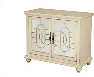 Martin Svensson Home Orleans Small Spaces TV Stand, 2 Door, Antique White