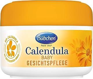 Bübchen Calendula Gesichtspflege, mit BIO-Calendula zum Schutz empfindlicher Babyhaut, 1er Pack 1 x 75ml