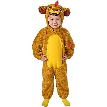 El Rey León - Disfraz de león Deluxe para niño, infantil talla S ...
