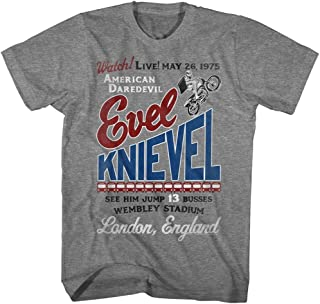 Evel Knievel Motorcycle Daredevil Butte Montana Est 1966 Adult T Shirt