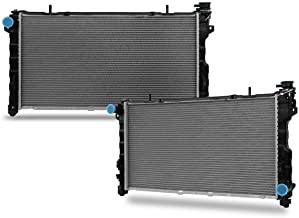 CU2311 Radiator Replacement for Chrysler Town & Country Grand Voyager Dodge Grand Caravan 2001 2002 2003 2004 V6 3.8L 3.3