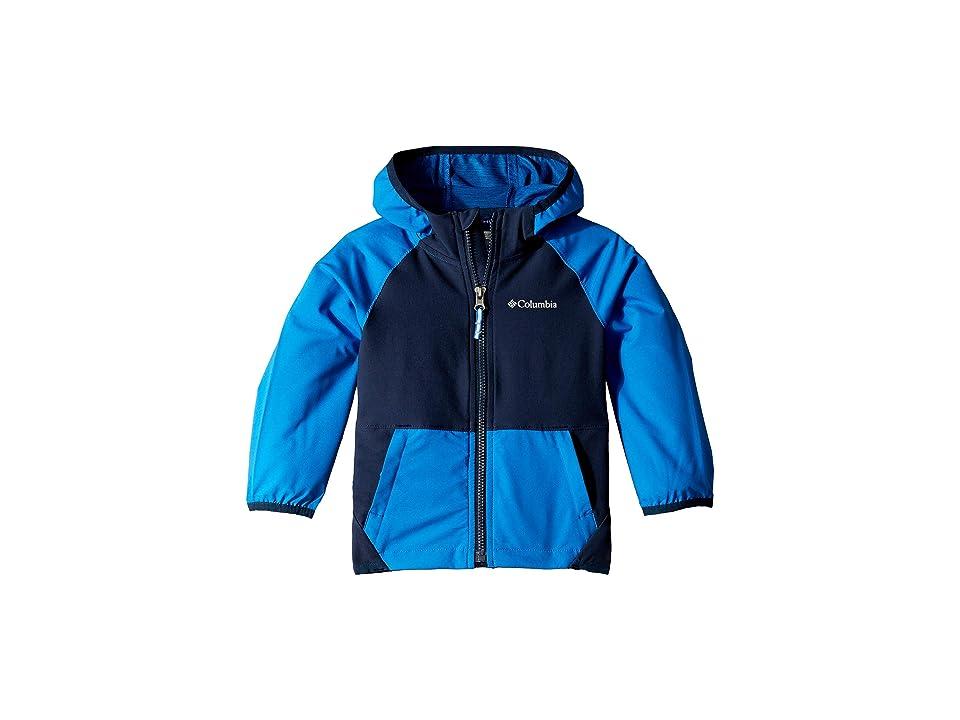 Columbia Kids Hidden Canyontm Softshell Jacket (Toddler) (Super Blue/Collegiate Navy) Boy