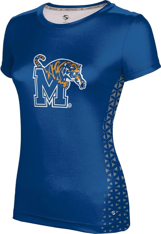 ProSphere University of Memphis Girls' Performance T-Shirt (Geometric)