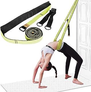Yoga Fitness Stretching Strap - Back Bend Assist Trainer, Improve Leg Waist Back Flexibility for Rehab Pilates Ballet Dance Cheerleading Splits Gymnastics