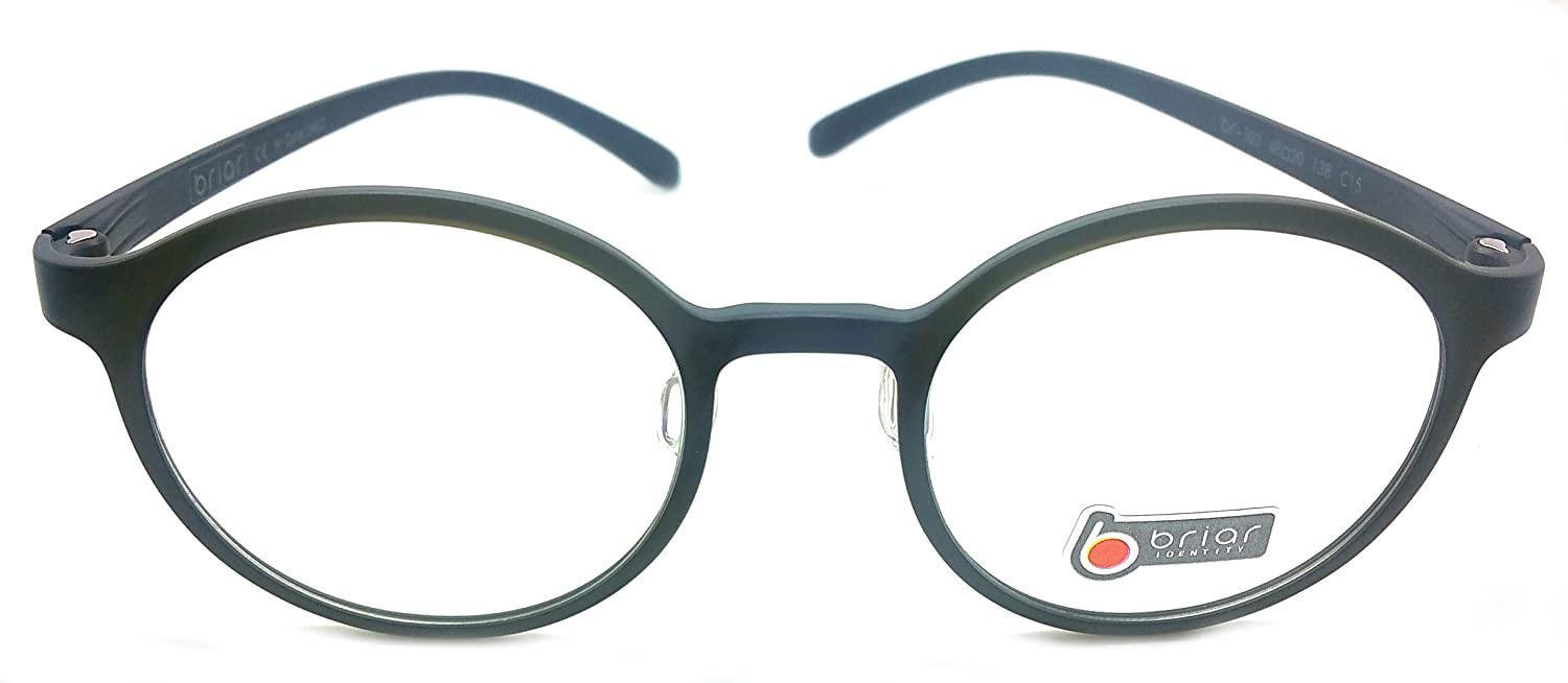 Brial Prescription Eye Glasses Frame Ultem Super Light, Flexible Br 303 C15