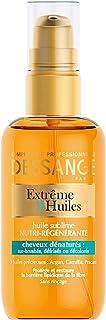 Dessange, Olio sublime nutriente e rigenerante per i capelli, con Argan, Camelia e Pracaxi, 100 ml
