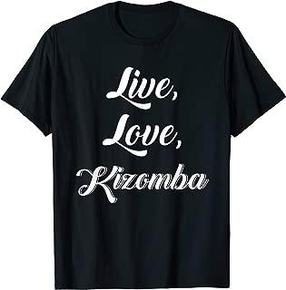 Komba T-Shirt Funny Dance Semba Angola Music Kizomba Dancing