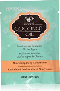 Hask Monoi Coconut Oil Nourishing Deep Conditioning Treatment Packet, 1.75 Ounce