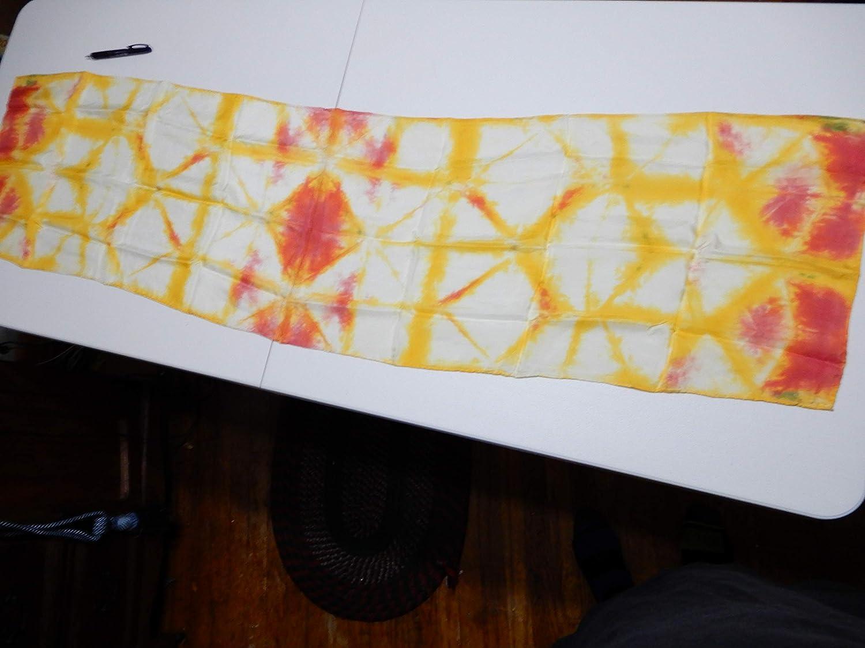 Shibori Silk Scarf Gorgeous 60