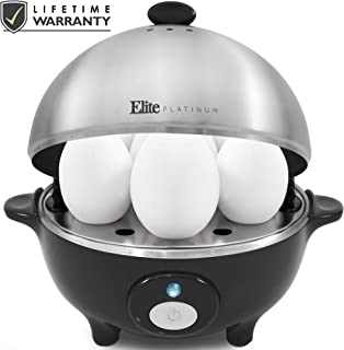 Maxi-Matic EGC-508 Easy Electric Egg Poacher, Omelet Measuring Cup Included, 7 Capacity,..