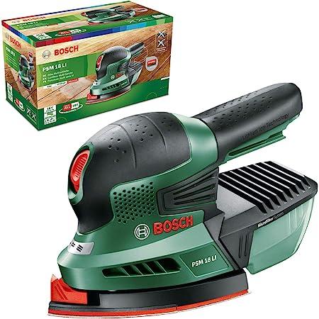 Bosch Home and Garden 0.603.3A1.301 Multilijadora de batería de Litio, 18 W, 18 V