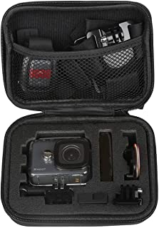 Plus Carrying Case Protective Camera Storage for GoPro Hero 5, Hero 6 Hero 7 2018 Black (Small Size)