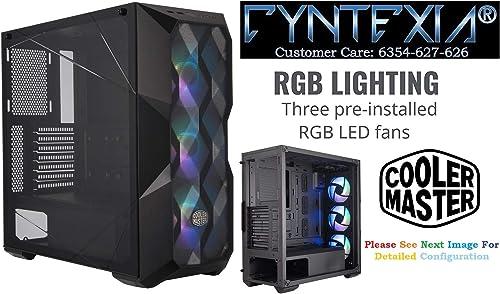 Cyntexia Gaming Computer Desktop Pc Intel Core i5-9400F / 16GB DDR4 RAM / 500GB M.2 SSD / 1TB HDD / 8GB DDR6 GeForce Nvidia 2060 Super GPU/Operating System & Basic Software Installed/Plug & Start product image