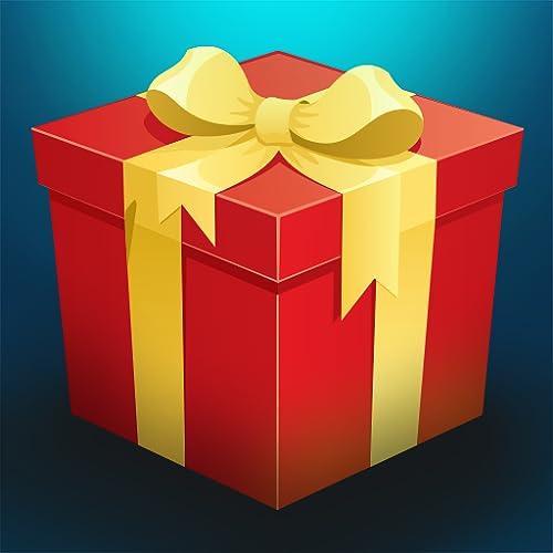 Weihnachtsgeschenk regen: Weihnachtsmann Geschenke fallen in der Stadt - Gratis-Edition