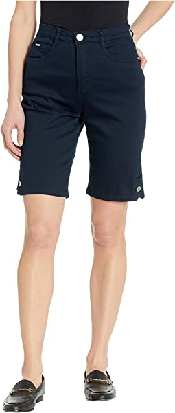 Soft Hues Denim Suzanne Bermuda in Navy