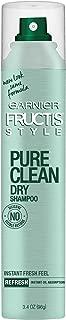Garnier Pure Clean Dry Shampoo, 3.4 Ounce