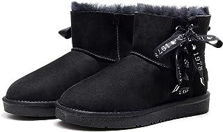 Best Gift Choice UGG Classic LACE Mini Boot- Premium Australian Sheepskin, Anti-Slip, Super Warm and Comfort