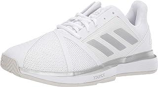 adidas Women's CourtJam Bounce Wide Tennis Shoe