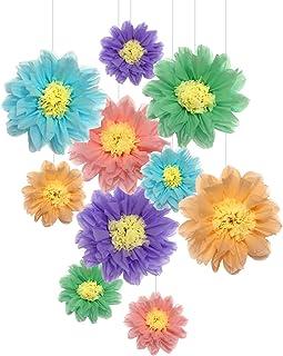 Pompones de papel de seda para decoración de fiestas de