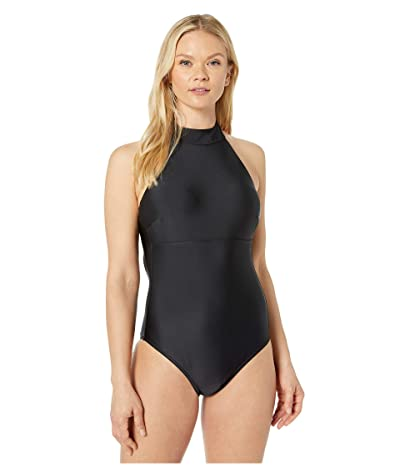 Prana Leolani One-Piece (Black Solid) Women