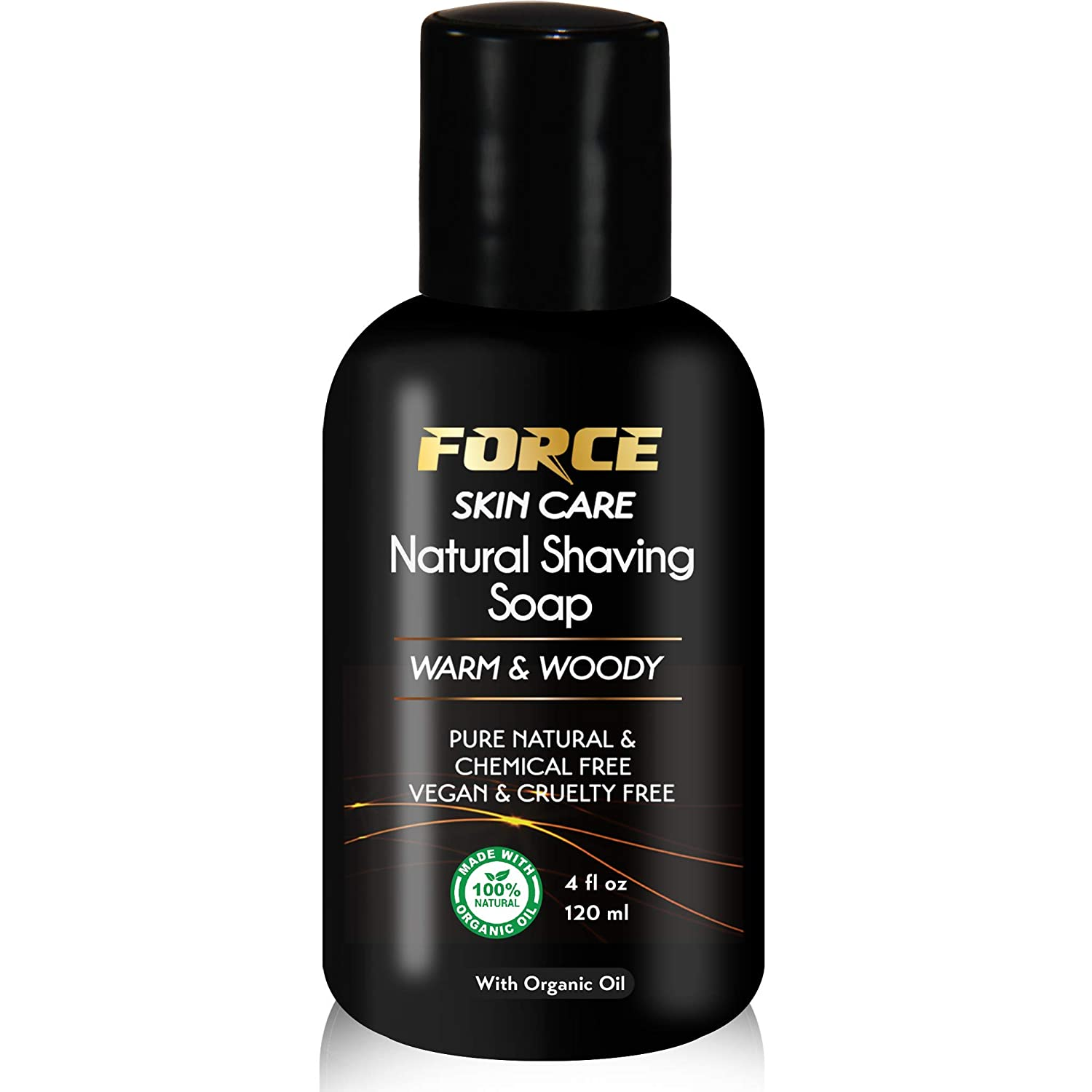 Natural Shaving Ranking TOP17 Gel; Made with - Moisturizing Max 86% OFF Warm Organic Blend