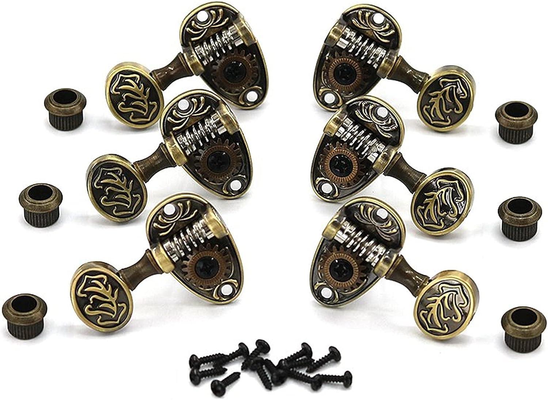 Clavijas afinación Guitarra Bakelite Guitarra String Button Strings Abra El Eje De Bronce Patrón De Cadena Debe Perilla Volumen Grover Restauración De Maneras Antiguas