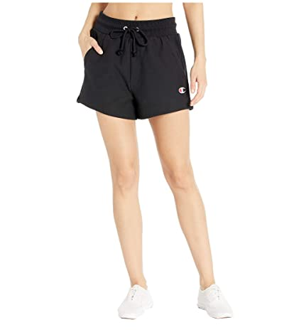 Champion Reverse Weave(r) Shorts Small C (Black) Women