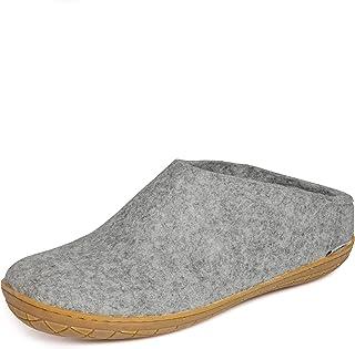 glerups dk A Shoes Mixte Adulte Pantoufle Feutre,Chaussons,Semelle Cuir