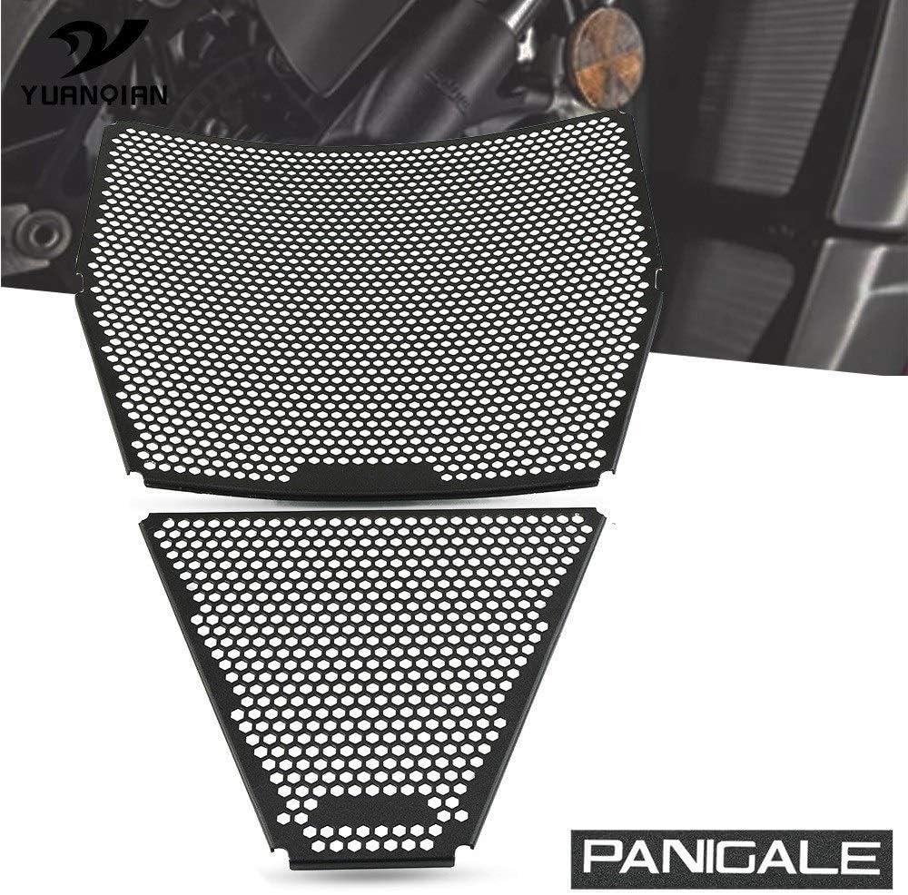 Panigale V4 K/ühlerschutz Set Motorrad-K/ühlergrill Schutz-Abdeckung Schutz//Fit for Ducati Street V4 S 2020 Color : 1 Set Panigale V4 S 2018 2019