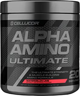 Cellucor Alpha Amino Ultimate EAA & BCAA Recovery Powder + HMB, Essential & Branched Chain Amino Acids for Post Workout Hy...