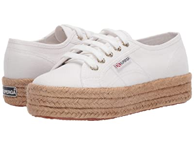 Superga 2730 Cotropew (White/Gold) Women