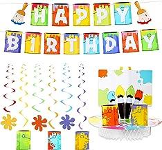 Amazon Com Art Birthday Party