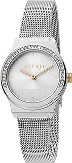 ساعة اسبريت ES1L091M0045 للنساء - ماغنوليا صغيرة