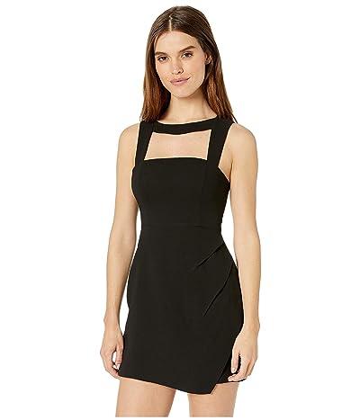 BCBGeneration Asymmetrical Cut Out Dress GEF6194552 (Black) Women