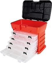 """جعبه ابزار ابزار Rack System Stalwart 75-3182A 11 """"با 4 سازمان دهنده"""