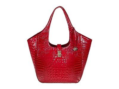 Brahmin Melbourne Carla Tote (Ember) Handbags