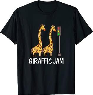 Giraffic Jam I Long-Neck Wildlife Animal T-Shirt