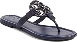 Womens Miller Signature Leather Thong Sandals